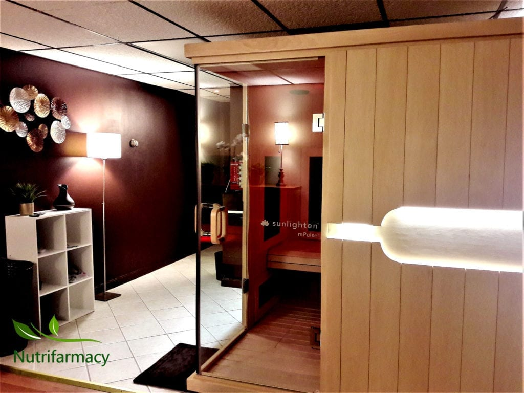 experience the benefits of an infrared sauna in pittsburgh's north hills, at the nutrifarmacy