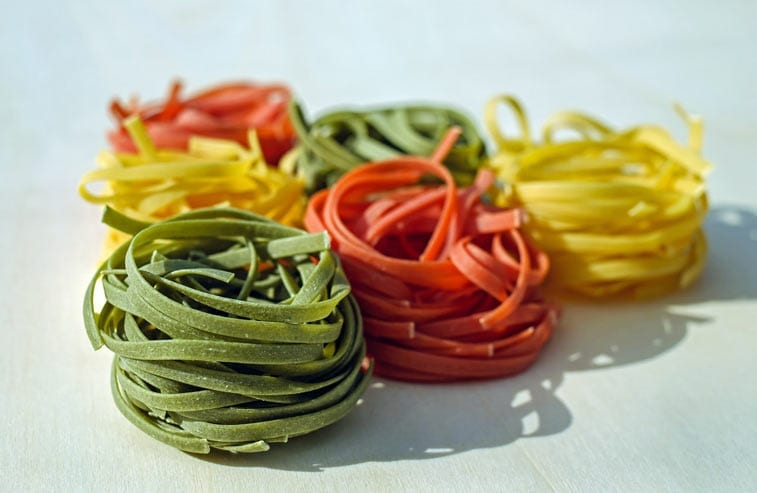 different types of pasta